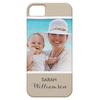 Foto personalizada elegante - personalizado fácil iPhone 5 carcasa
