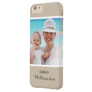 Foto personalizada elegante - personalizado fácil funda para iPhone 6 plus barely there