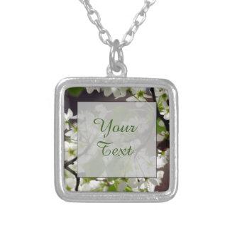 Foto personalizada floral del flor colgante cuadrado