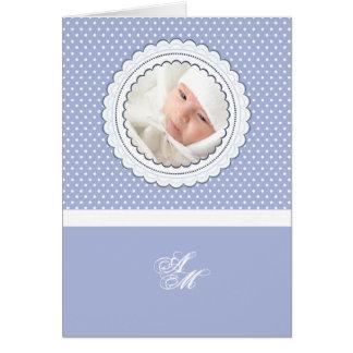 Foto personalizada marco horneada a la crema y con tarjeta pequeña