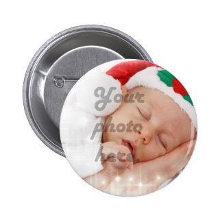 Foto personalizada pin redondo de 2 pulgadas