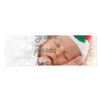 Foto personalizada tarjetas de visita mini