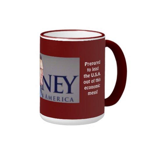 Foto probada Romney del líder 15 onzas. Taza