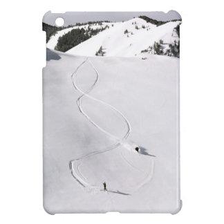 Foto profunda del esquí de Idaho del vintage del p iPad Mini Carcasa