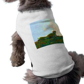 foto psychadelic de la ardilla playera sin mangas para perro