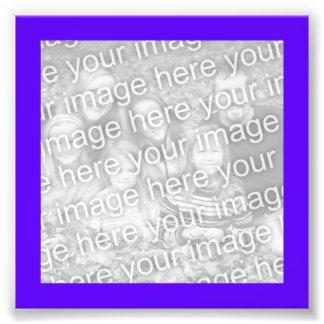 Foto púrpura brillante del marco