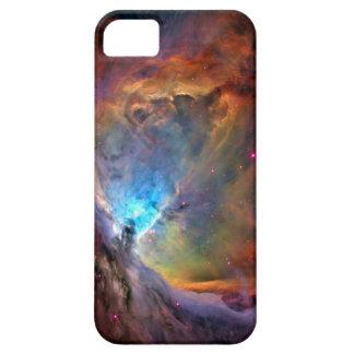 foto púrpura de la nebulosa de Orión del espacio Funda Para iPhone 5 Barely There