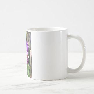 Foto púrpura del iris tazas