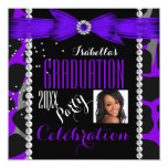 Foto púrpura salvaje del graduado de la fiesta de comunicados