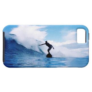 Foto que practica surf iPhone 5 carcasas
