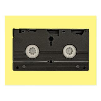 Foto retra de la cinta de VHS del casete Tarjetas Postales