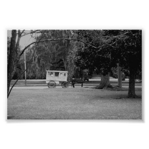 Foto romana del carro del caramelo
