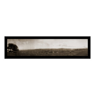 Foto rural 1908 de Santa Barbara CA Póster