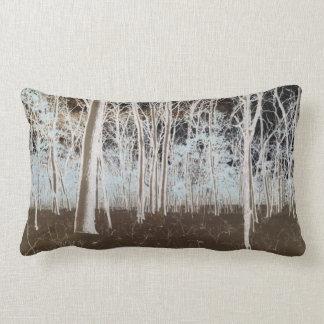 Foto rústica del arbolado almohada
