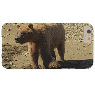 Foto salvaje 2 de la fauna del oso grizzly que funda barely there iPhone 6 plus