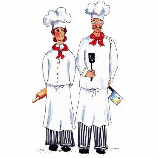 Foto Sculpter de los cocineros de Kniving Escultura Fotografica
