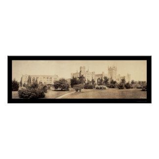 Foto septentrional 1915 de Illinois Univ Póster