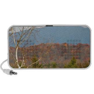 Foto Shenandoah del paisaje de Blue Ridge Mountain Notebook Altavoz