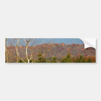 Foto Shenandoah del paisaje de Blue Ridge Pegatina Para Auto