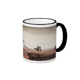 Foto solitaria del barranco del guardabosques tazas de café