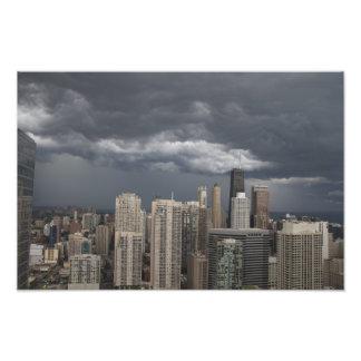 Foto tempestuosa de los cielos