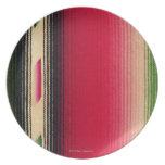 Foto, textura combinada india, color, alto res plato de cena