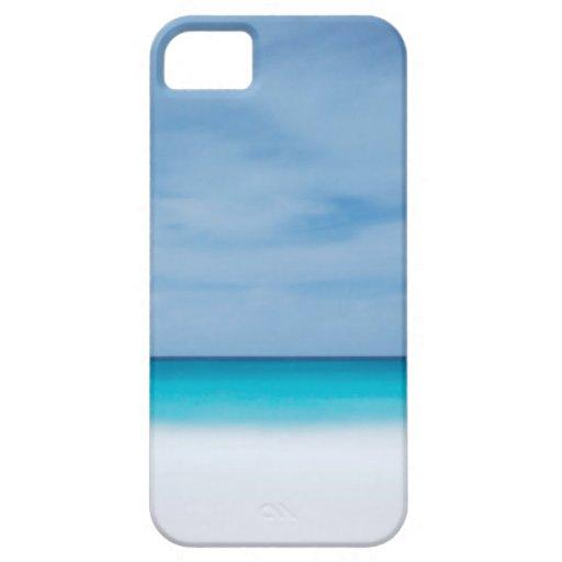 Foto tropical del mar del paraíso del océano del iPhone 5 carcasa