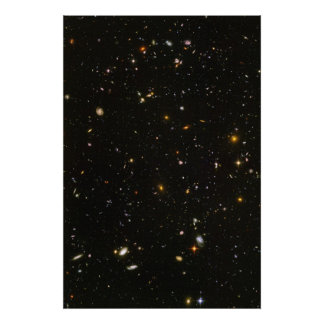 Foto ultra profunda del campo de Hubble Posters