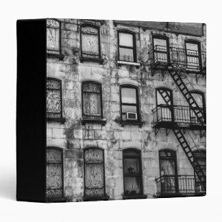 """Foto urbana de la calle de New York City Carpeta 1 1/2"""""""