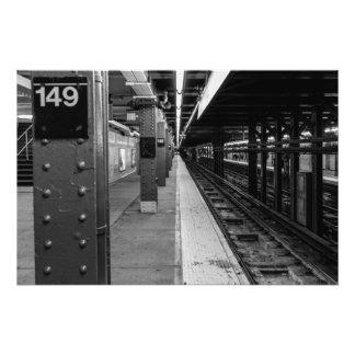 Foto urbana del subterráneo fotografías