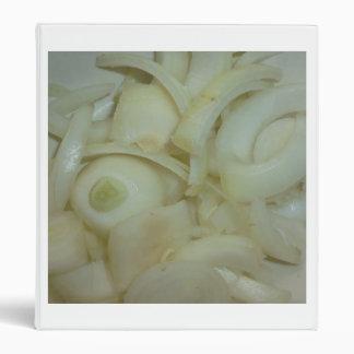 foto vegetal cortada de la comida de la cebolla carpeta 2,5 cm