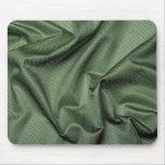Foto verde de la tela tapete de ratones