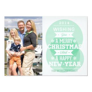 Foto verde del día de fiesta del navidad de la anuncios