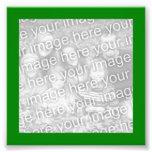 Foto verde del marco