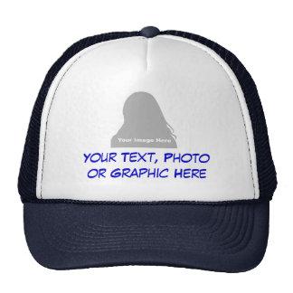Foto y gorra del mensaje