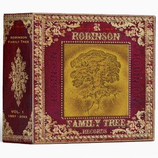 """Foto y libro de recuerdos del árbol de familia con carpeta 2"""""""
