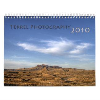 Fotografía 2010 de Terrel Calendario