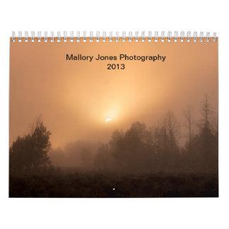 Fotografía 2013 de Mallory Jones Calendarios De Pared