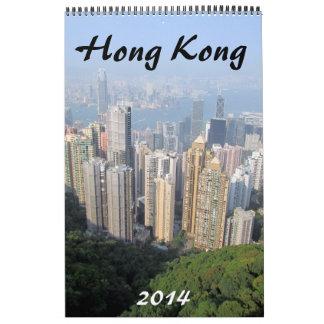 fotografía 2014 de Hong-Kong Calendario