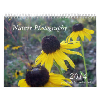 Fotografía 2014 de la naturaleza calendarios de pared