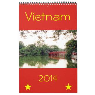 fotografía 2014 de Vietnam Calendarios