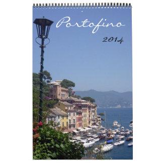 fotografía 2014 del portofino calendario