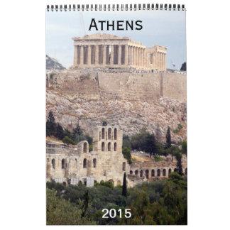 fotografía 2015 de Atenas Calendarios