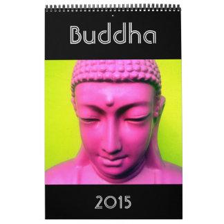 fotografía 2015 de Buda Calendario De Pared