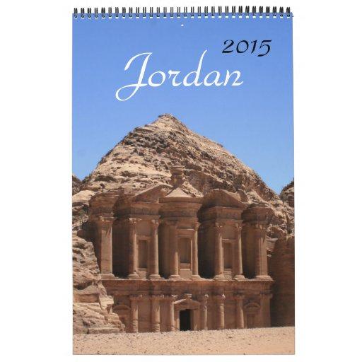 fotografía 2015 de Jordania Calendario