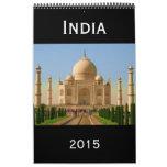 fotografía 2015 de la India Calendarios De Pared