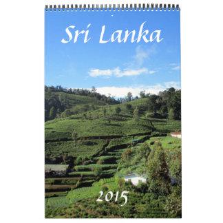 fotografía 2015 de Sri Lanka Calendarios De Pared
