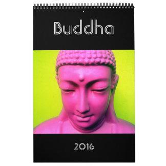 fotografía 2016 de Buda Calendario De Pared