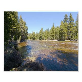 fotografía 3979 del río de Merced en Yosemite. Fotografia