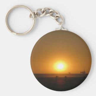 Fotografía 3 de la playa llavero redondo tipo pin